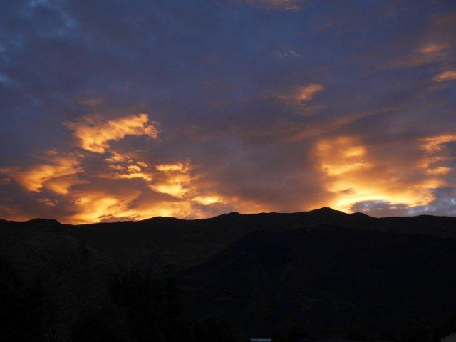 Sunset over Roy's Peak