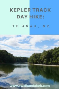 Kepler Track Day hike NZ
