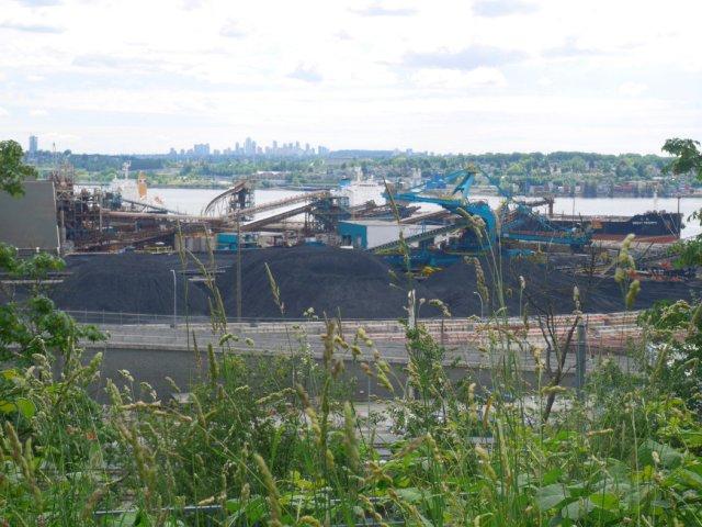 Industrial views in North Van