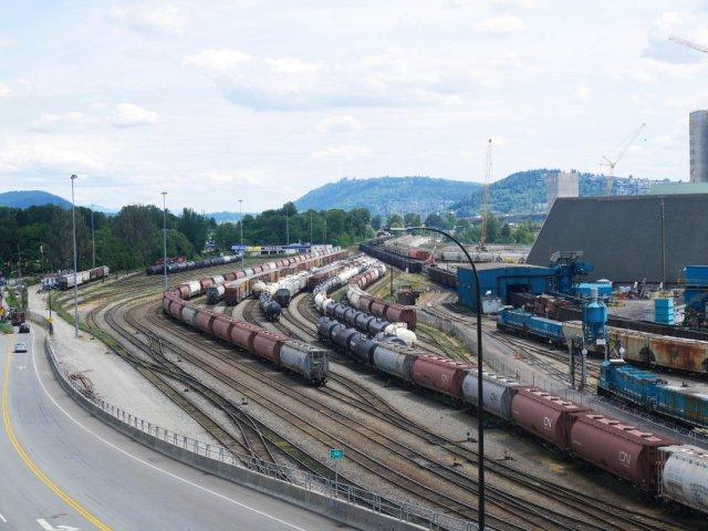 North Van trainlines