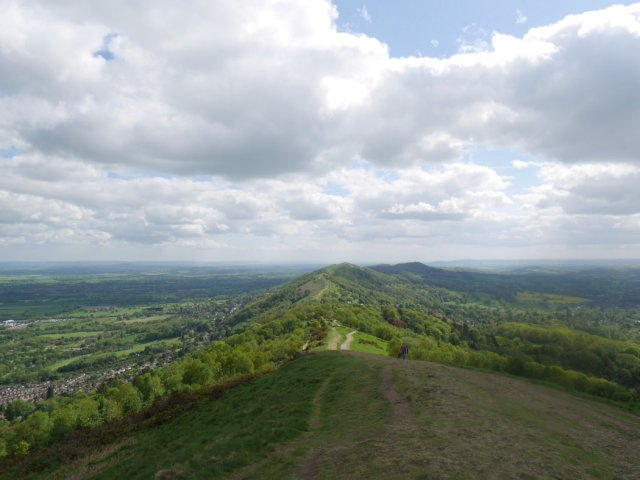 Looking back to Black Hill