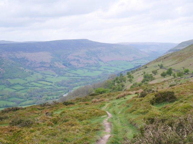 Brecon Beacons are long ridgewalks