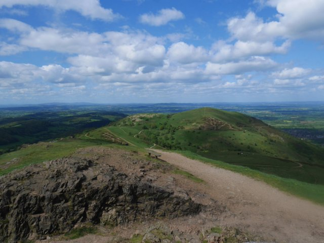 View from Worcestershire Beacon