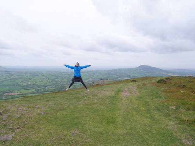 Jumping near the trig point