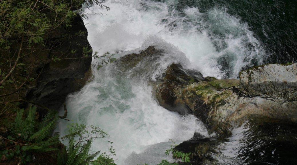 Twin Falls view - Lynn Creek