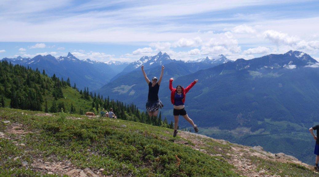 Mount Thurston jump