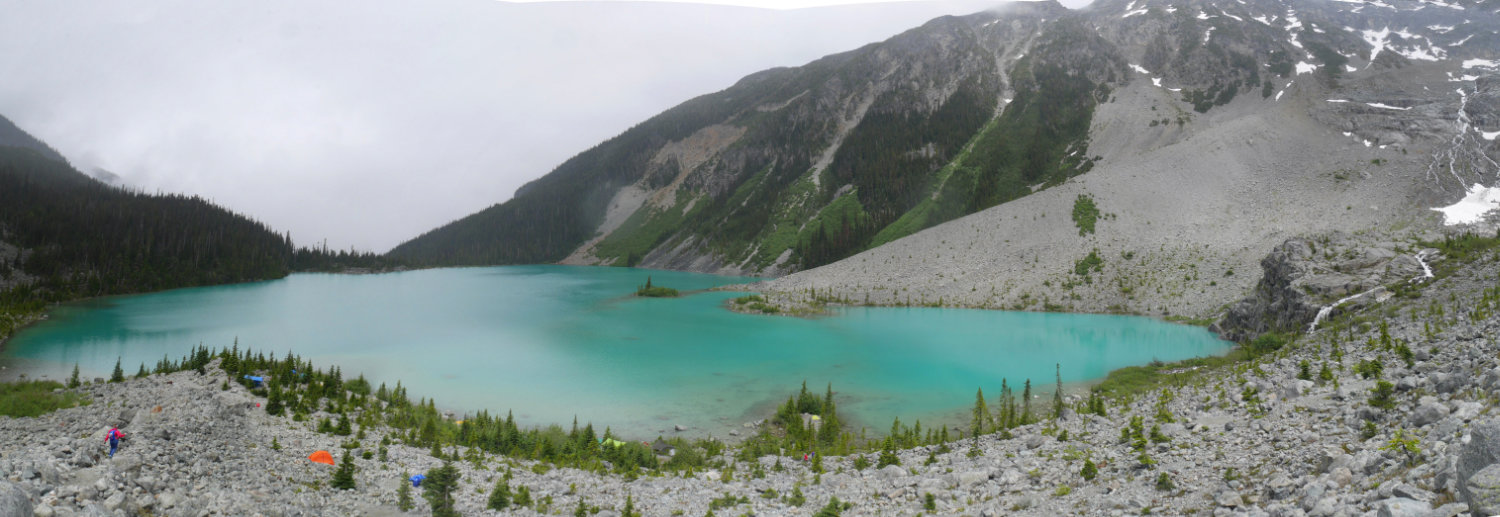 Upper Joffre lake Panorama