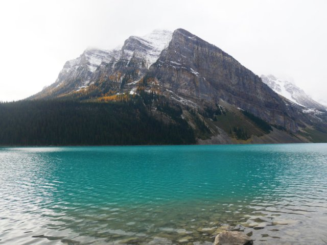 Mount Fairview and the lovely Lake Louise
