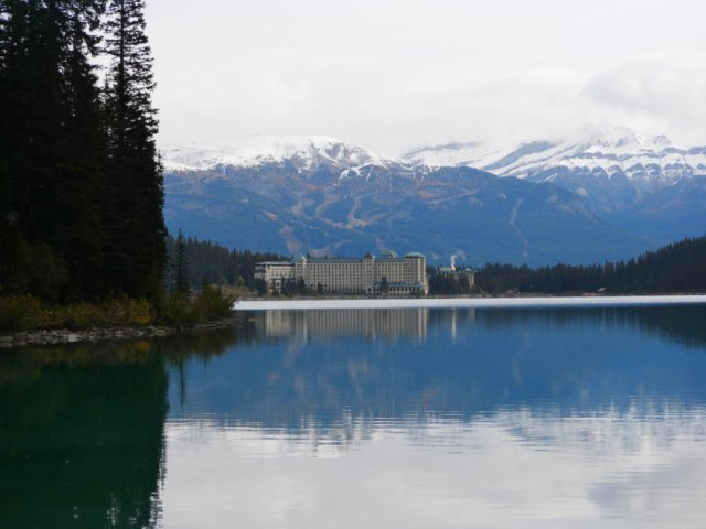 Fairmont chateau on Lake Louise