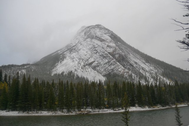 Clearer Mount Rundle view