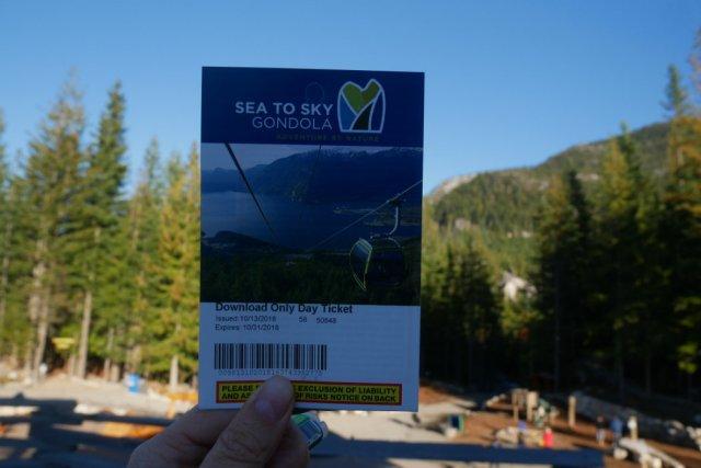 gondola ticket