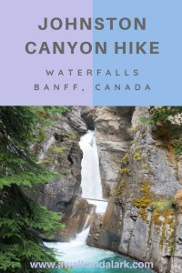 Johnston Canyon Waterfalls