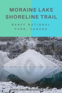 Moraine Lake Shoreline trail - Diamond
