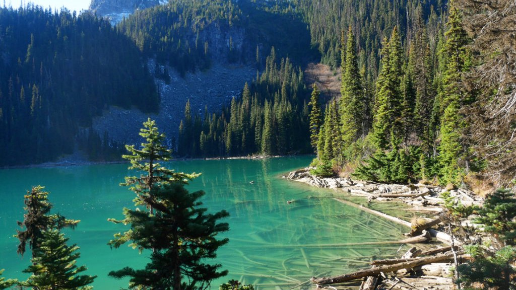Joffre Lakes middle lake