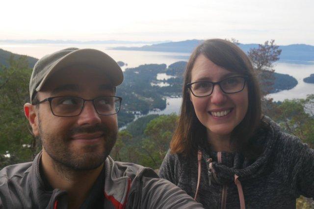 Pretty amazing view from Mount Daniel