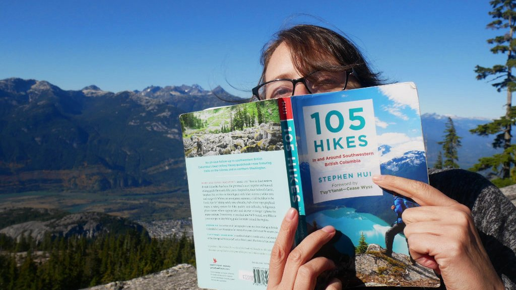 105 Hikes book