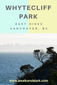 Whytecliff Park - Vancouver view