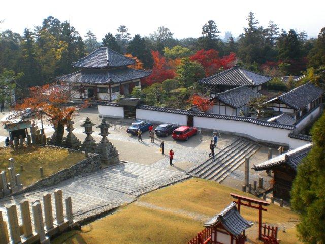 Nigatsudo view down