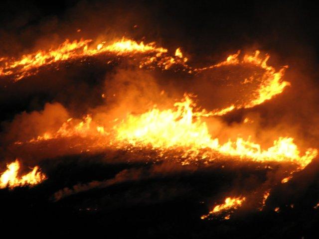 More Wakakusayama fire