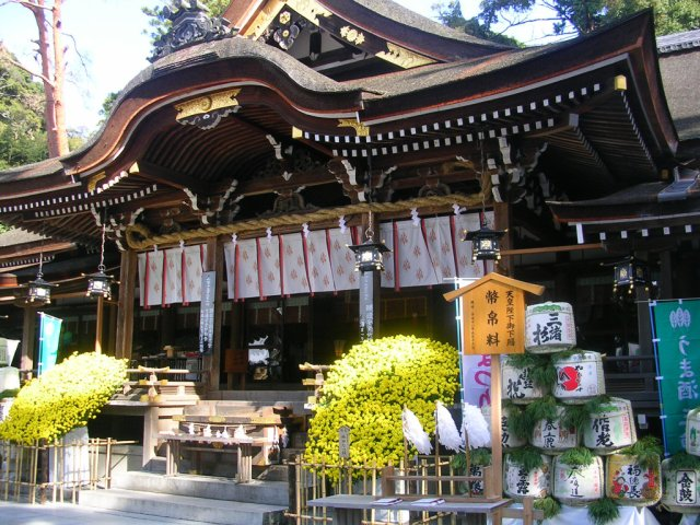 Omiwa shrine sake festival