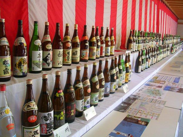 Omiwa shrine sake festival!!