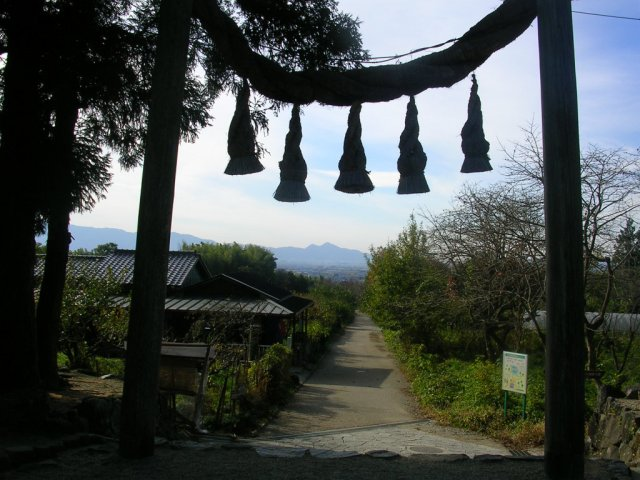 Shrine on kusuri michi