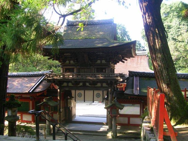 Isonokami jingu main gate
