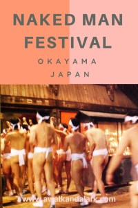 Hadaka Matsuri - the naked man festival - Booty time