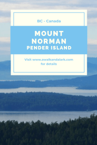 Mount Norman on Pender Island
