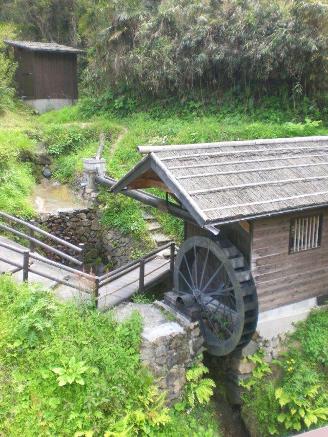 Waterwheel in Takatori