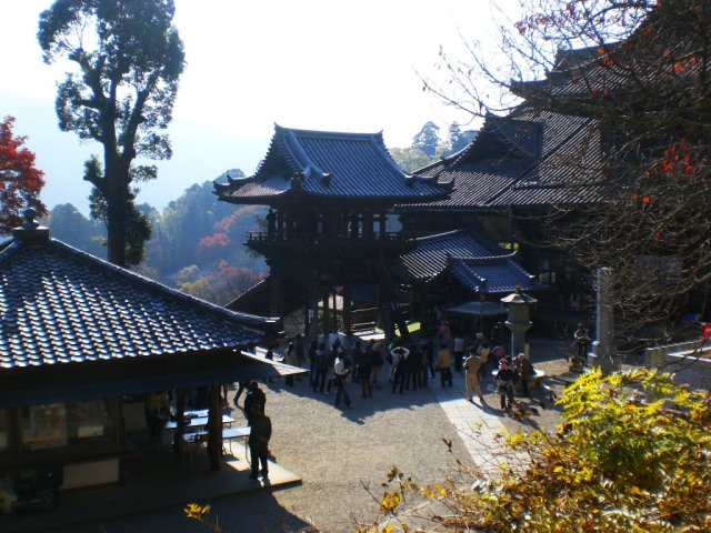 Hasedera has such a beautiful temple complex