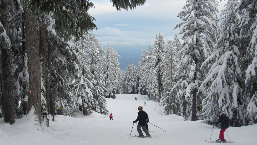 Grouse Mountain Skiing – Mountain review