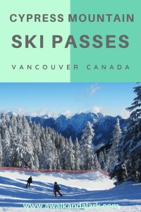 Cypress Mountain Ski passes - Skiing Vancouver Canada