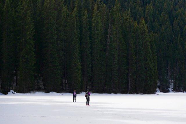 Icy Lightning Lake