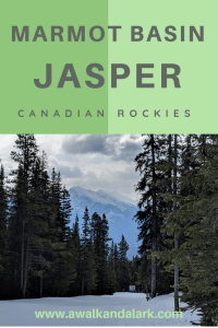 Jasper Ski Resort - A fantastic area to explore with gorgeous mountains in all directions!