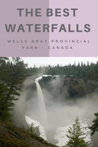 Waterfalls of Wells Gray Provincial Park - Helmcken Falls