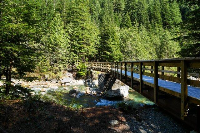 Cross the creek