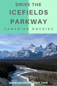Icefields Parkway and pretty views of Canada
