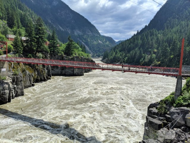 Hell's Gate and the Fraser Canyon