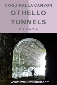 Othello Tunnels - great fun historical hike near Vancouver