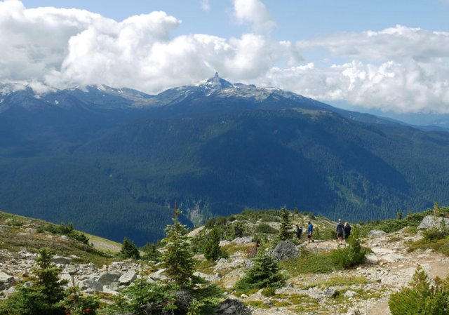 First view of Blackcomb