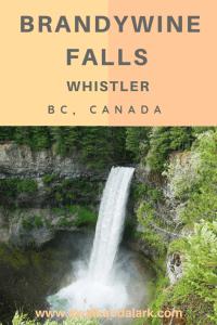 Brandywine Falls, Whistler's best waterfall