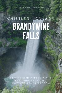Brandywine Falls on the Lava Lake Loop - Fun, easy hike near Whistler