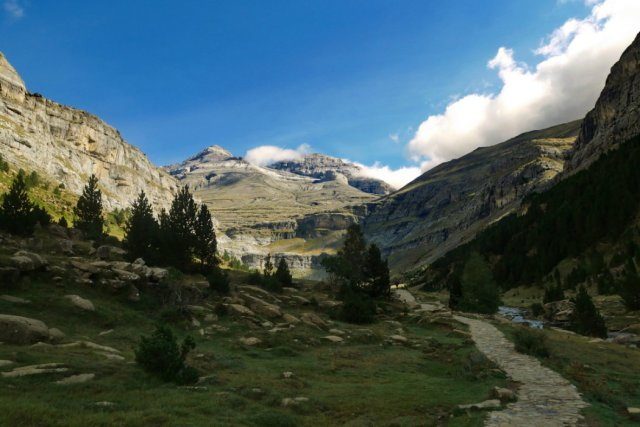 First views of the Ordesa Valley