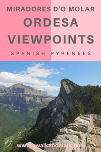 Miradores d'o Molar Viewpoints - fantastic hike in the Spanish Pyrenees