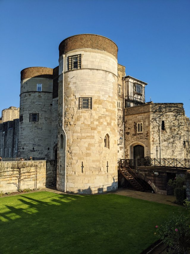 Edge of the Tower of London