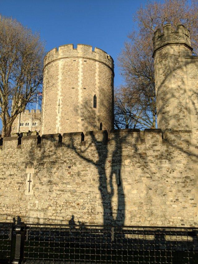 Peeking into the Tower of London