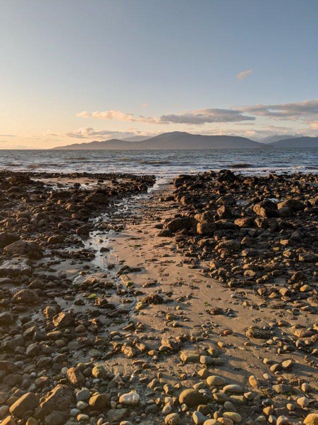 Between Acadia beach and tower beach
