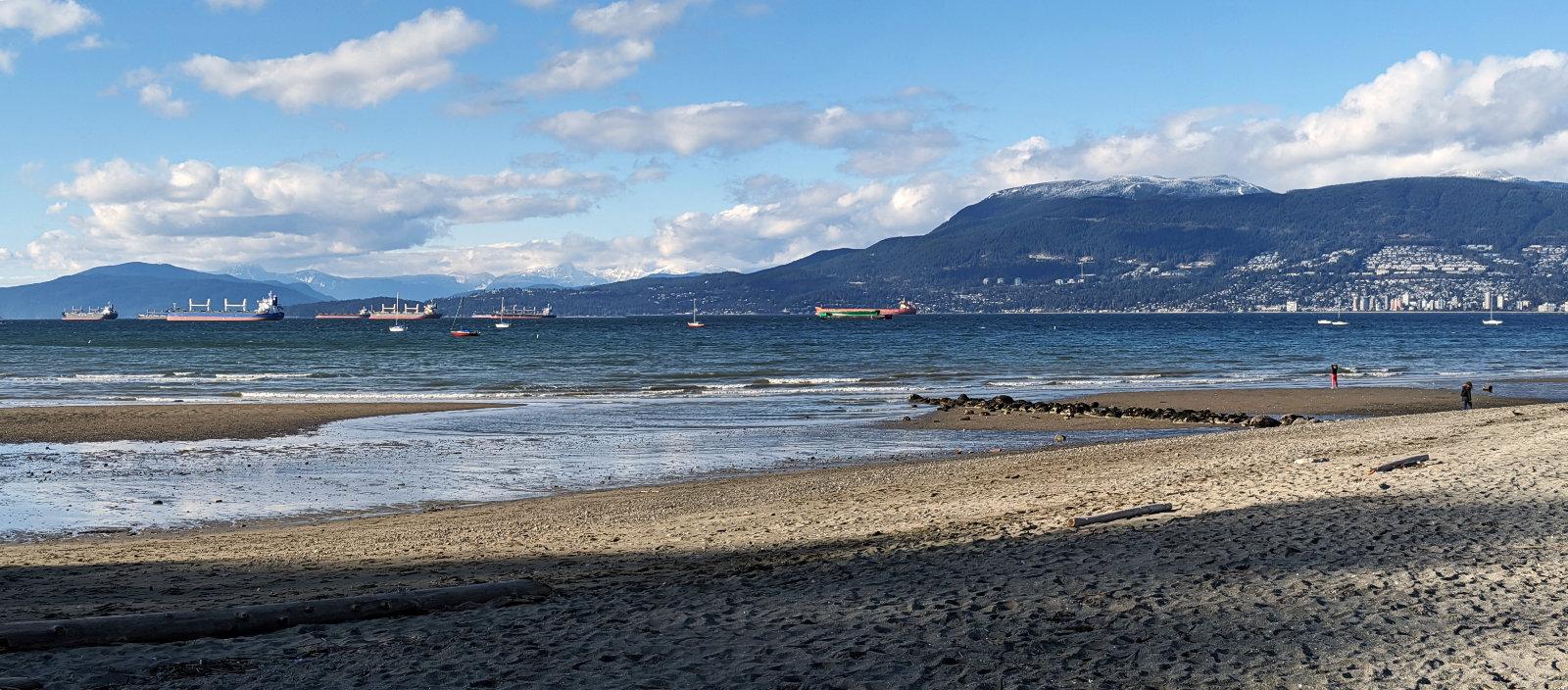 Kits beach panorama