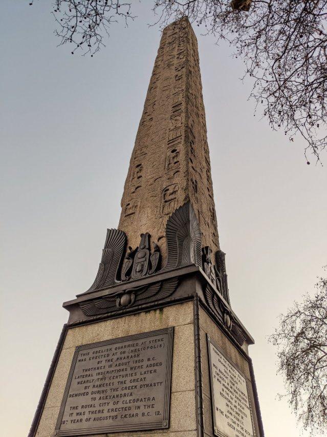 Obelisk on the Thames Path